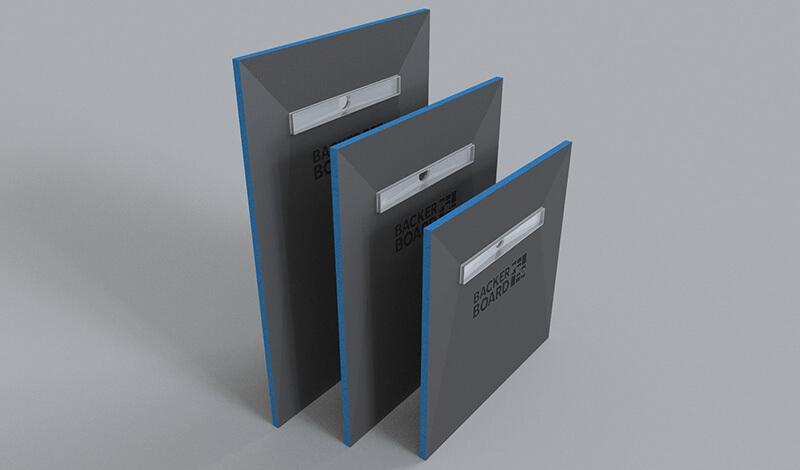 Backer Board PRO - Professional Tile Backer Board Shower Tray