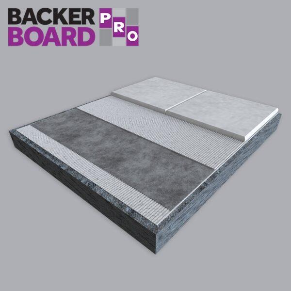 Backer Board Pro SP Decoupling